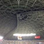 ヤフオクドームの屋根が開閉する時の電気代の値段ww